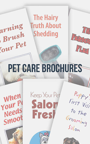 Pet Care Series Brochures