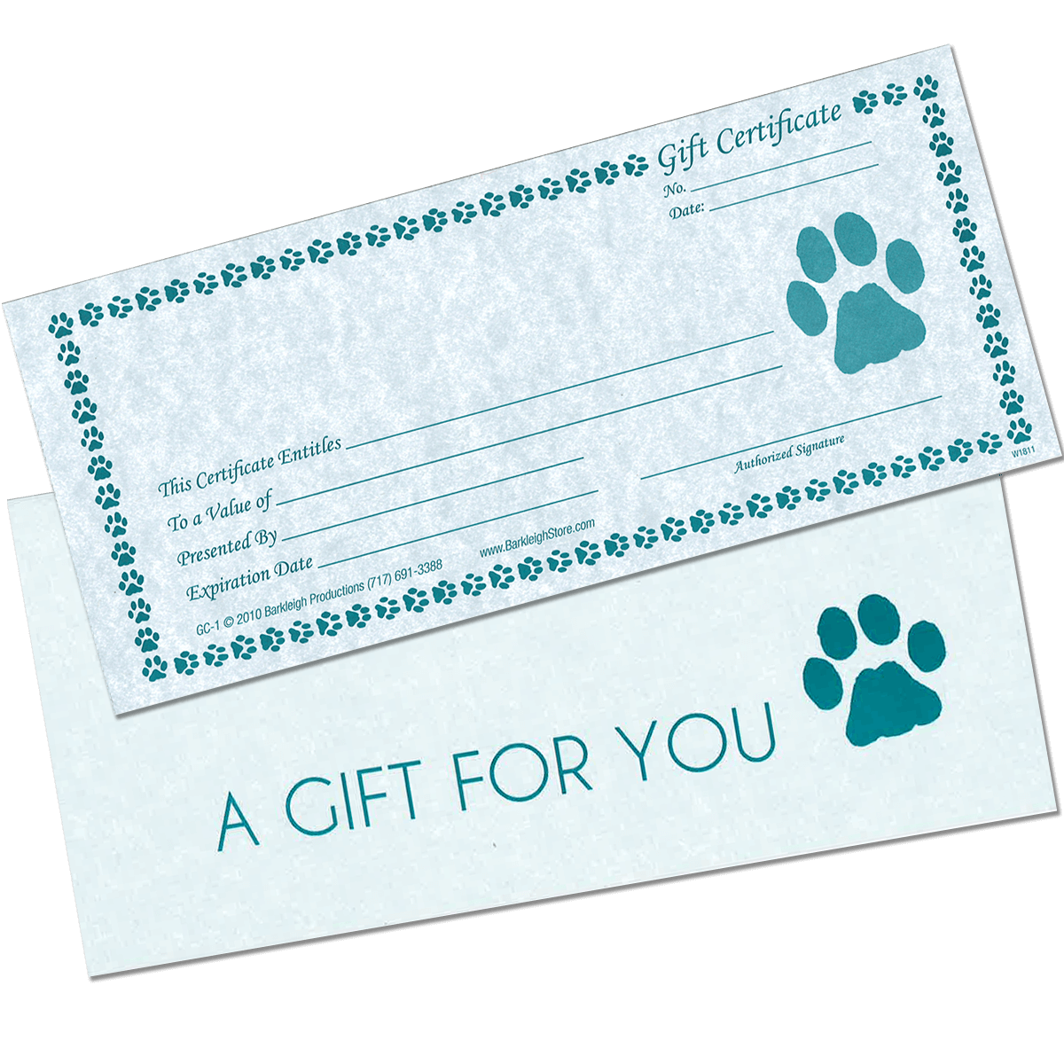 gift pet envelopes certificates release fuzzy cert certificate forms pack sign lope