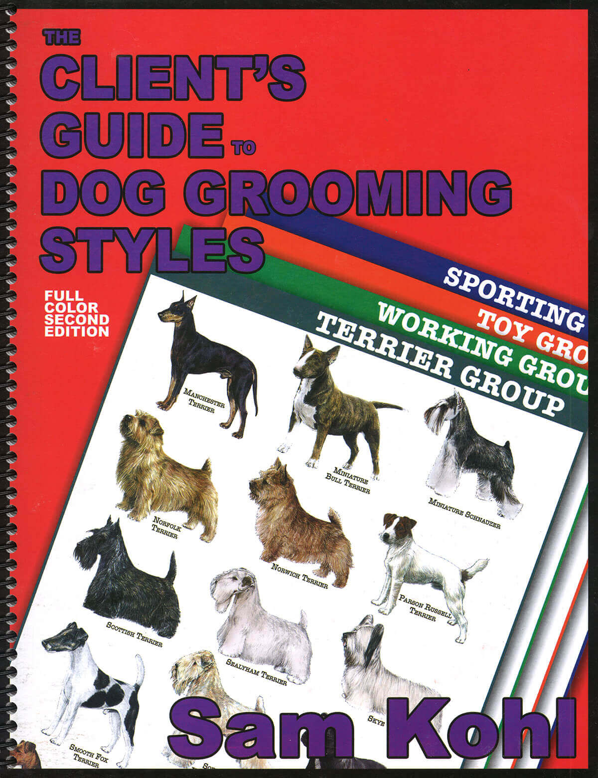 The Dog Grooming Guide Cards