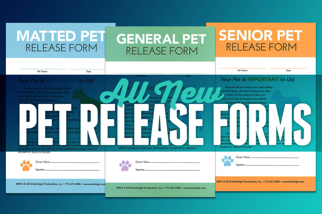 Pet Release Forms